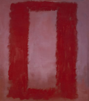 Rothko Red on Maroon