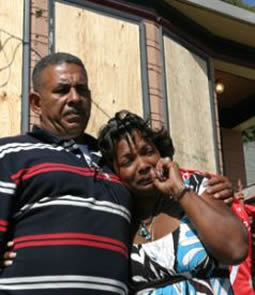David Bacon: eviction in Oakland