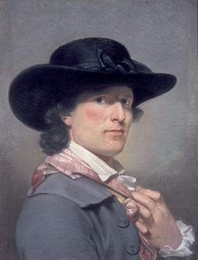 Self-Portrait , 1790. Archibald Skirving.