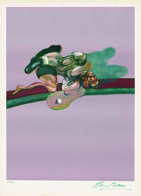Francis Bacon, Left panel of Triptych