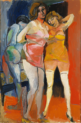 Guttuso Scantily Dressed Women