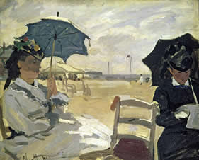 Monet Beach at Trouville