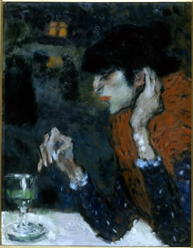 Pablo Picasso The Absinthe Drinker, 1901