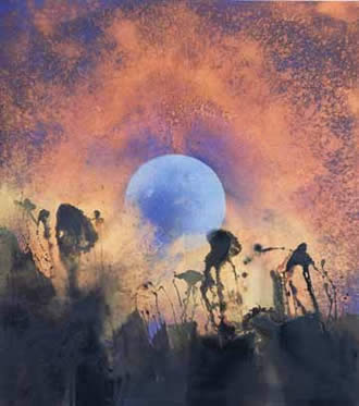 Denis Bowen Moon Rising 1989
