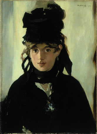 Manet Berthe Morisot with a Bouquet of Violets