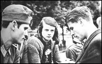 Hans & Sophie Scholl with Christoph Probst