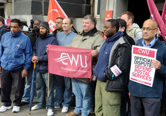 CWU strike