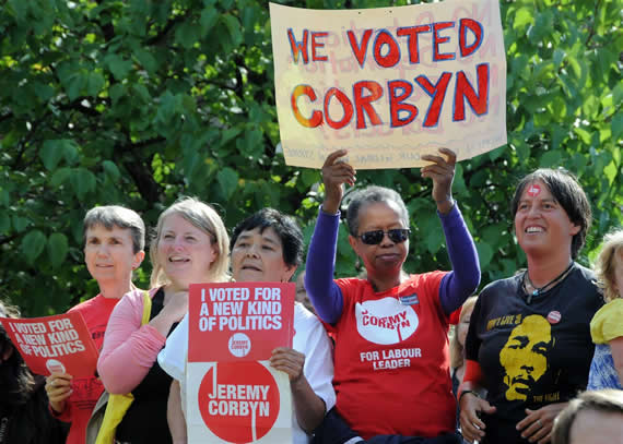 Jeremy Corbynelected leader