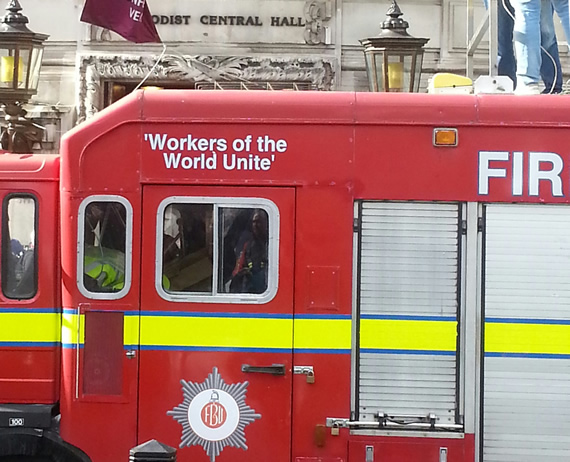 FBU fire engine
