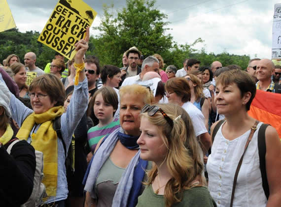 Balcombe march