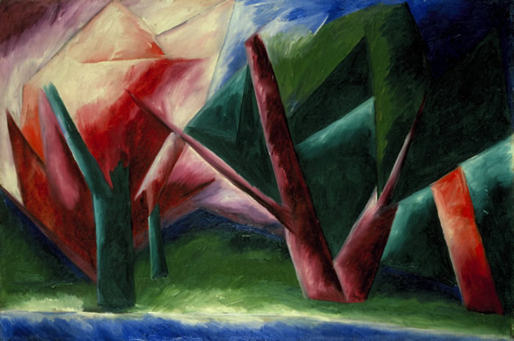 Goncharova The Forest