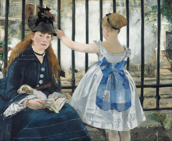 Manet: The Railway