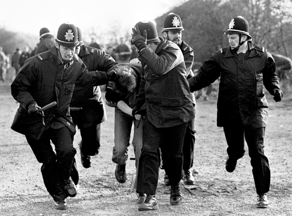 Miners Strike Peter Arkell photo