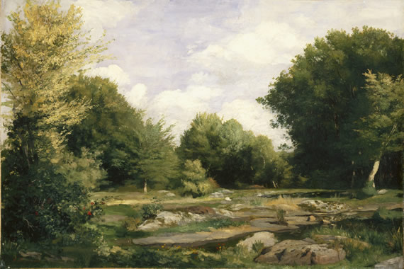 Renoir: Clearing in the Woods