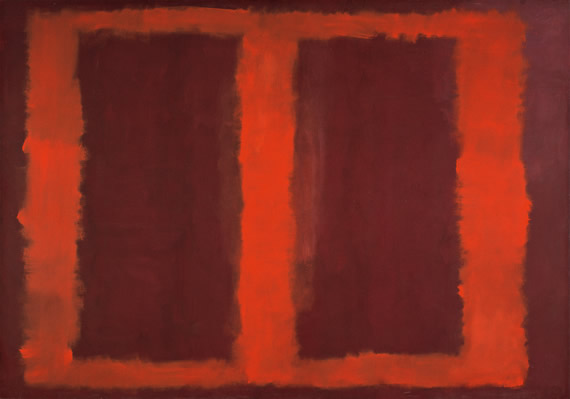 "Rothko Sketch for ""Mural No.4"""