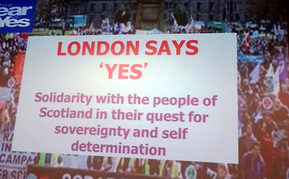 London says Yes